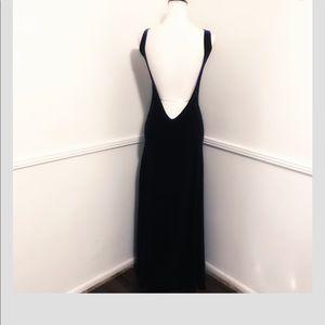 Brandy Melville Dresses - Brandy Melville one size black maxi dress